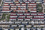 Germany, Bavarian, Poing, development area, terraced houses - KLEF000016