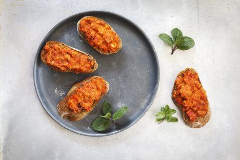Crostini with tomato - EVGF001765
