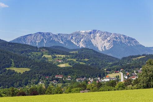 Austria, Lower Austria, Vienna Alps, Schneeberg Mountain and Gruenbach - SIEF006605