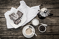 Coffee and brownies - SARF001899