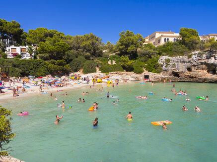 Spain, Mallorca, View to Cala Ferrera - AM004067