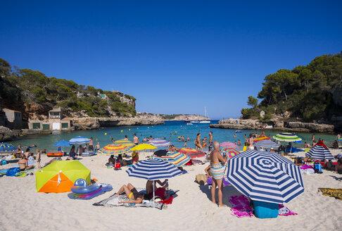 Spain, Majorca, beach of Cala Llombarts - AM004076