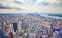 USA, New York, Manhattan, view to downtown - SEGF000376