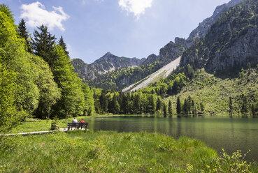 Germany, Bavaria, Chiemgau Alps, Inzell, Frillensee and Staufen Mountains - SIE006620