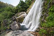 Spain, Galicia, Neda, Belelle waterfall - RAEF000212