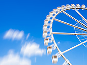 Germany, Hamburg, Big wheel, blurred motion - KRPF001429