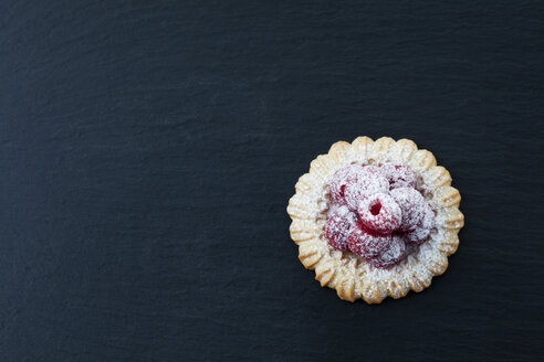 Short crust tartlet with raspberries - CSF025827