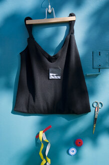 Do it yourself, sewing, scissors and old pullover, tape measure and thread - GIS000126