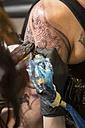 Tattoo artist at work - TAMF000006