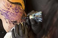 Tattoo artist at work - TAMF000010