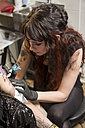 Tattoo artist at work - TAMF000012