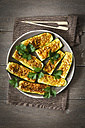 Gratinated sliced courgettes with Chermoula - EVGF001829