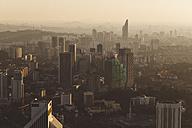 Malaysia, Kuala Lumpur, cityscape at sunset - GIOF000003