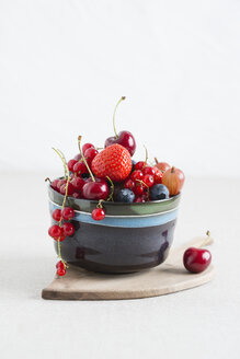Bowl of different fruits - MYF001055