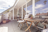 Germany, Berlin, Vacation home with rooftop terrace - TAMF000248
