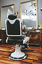 Hairdresser chair in a barber shop - MADF000331