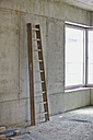 Ladder in an unfinished building - FMKF001650