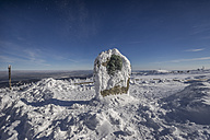 Germany, Saxony-Anhalt, Harz National Park, Brocken, Heinrich Heine memorial stone - PVCF000431