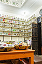 Morocco, Marrakesh, medicinal herbs in a pharmacy - JUN000331