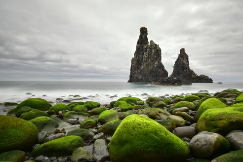 Portugal, Madeira, Rocky coast, Rock formations - FDF000118