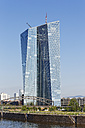 Germany, Frankfurt, view to European Central Bank - SIEF006639