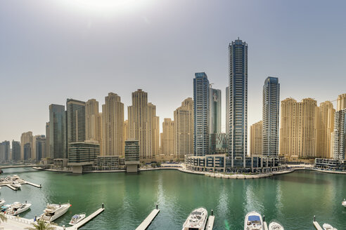 UAE, Dubai, view to Dubai Marina - NKF000298