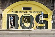 Austria, Innsbruck, renovation of a facade - VI000333