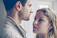 Young woman looking at her boyfriend - CHAF000563