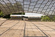 Germany, Bavaria, Munich, Olympic Stadium, ticket counter - VI000350