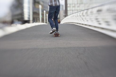 Skateboarding teenage boy - MMFF000869