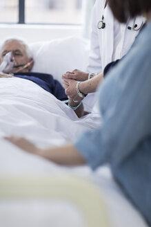 Sick bed visit in hospital - ZEF006759