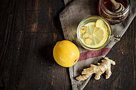 Hot lemon-ginger infusion with honey - SBDF002178