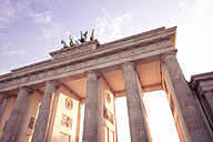 Germany, Berlin, Berlin-Mitte, Brandenburg Gate, Quadriga - CMF000303