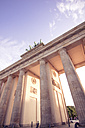 Germany, Berlin, Berlin-Mitte, Brandenburg Gate, Quadriga - CMF000306