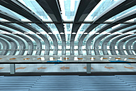 Futuristic subway or train station, 3D Rendering - SPCF000059