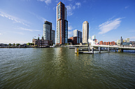 Netherlands, Rotterdam, Feijenoord, view to city centre - THAF001416
