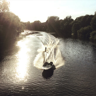 Water skier on river - GC000112