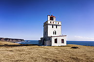 Iceland, Dyrholaeyjarviti, Dyrholaey Lighthouse - SMAF000369