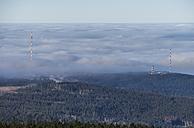 Germany, Saxony-Anhalt, Harz National Park, atmospheric inversion - PVCF000519