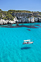 Spain, Balearic Islands, Menorca, view of Cala Macarelleta - MGOF000365