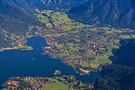 Germany, Bavaria, Rottach-Egern at Lake Tegernsee - PEDF000013
