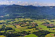 Germany, Bavaria, Aerial view of Bad Tolz - PEDF000023
