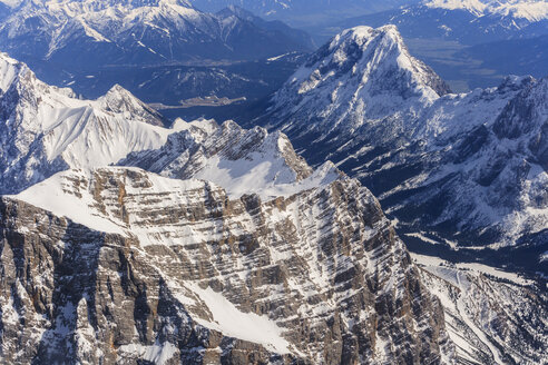 Germany, Bavaria, Alps with Alpspitz mountain - PEDF000136