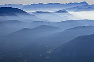 Germany, Bavaria, Zugspitze and Wetterstein mountains - PEDF000152