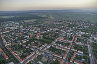Germany, aerial view of Halberstadt in the evening - PVCF000531