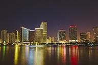 USA, Miami, Skyline at night - GIOF000086