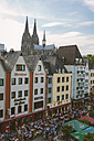 Germany, North Rhine-Westphalia, Cologne, Old town, View to Cologne Cathedral - MAD000497