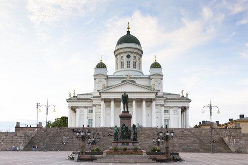 Finland, Helsinki, view to Helsinki Cathedral - FCF000731