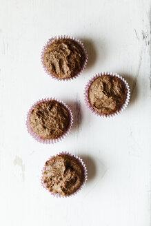 Vegan chocolate muffins, sugar-free and full-value - EVGF002098