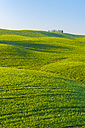 Italy, Tuscany, Val d'Orcia, view to rolling landscape - LOMF000032